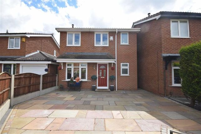 Thumbnail Detached house for sale in Riverway Close, Lostock Hall, Preston, Lancashire