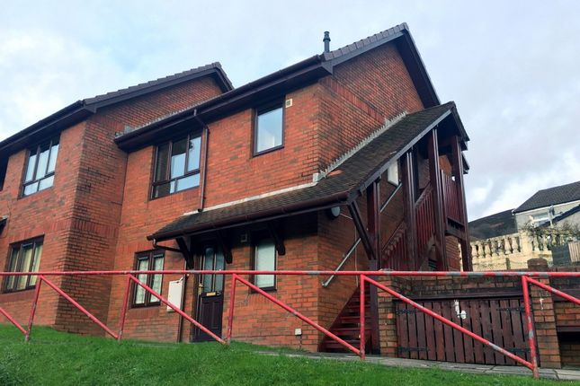 Thumbnail Flat to rent in Gwern Las, Victor Road, Abertillery, Gwent