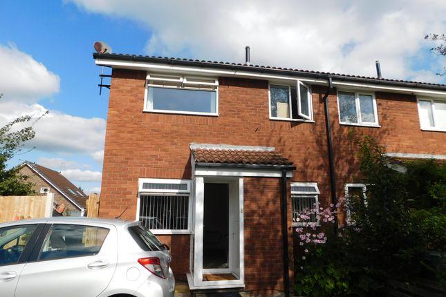 1 bed semi-detached house to rent in Muirfield Close, Cinnamon Brow, Warrington WA2