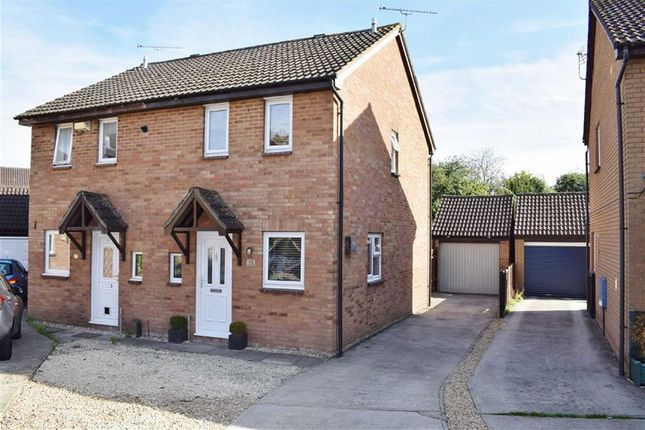 Thumbnail Semi-detached house for sale in Maitland Close, Chippenham, Wiltshire