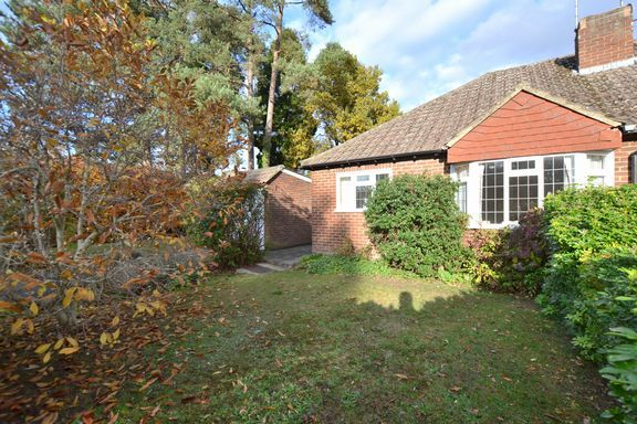 Thumbnail Semi-detached bungalow for sale in Linkway, Church Crookham, Fleet