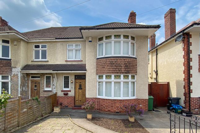 Thumbnail Semi-detached house for sale in Eagle Road, Bristol