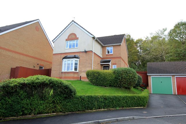 Thumbnail Detached house for sale in St Cenydd Close, Pontllanfraith, Blackwood