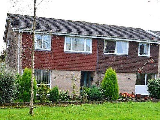 Thumbnail Semi-detached house to rent in Trevillis Park, Liskeard, Cornwall