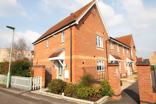 Thumbnail End terrace house to rent in Barley Close, Newmarket