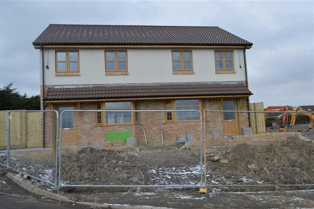Thumbnail Semi-detached house for sale in Winchfawr Road, Heolgerrig, Merthyr Tydfil
