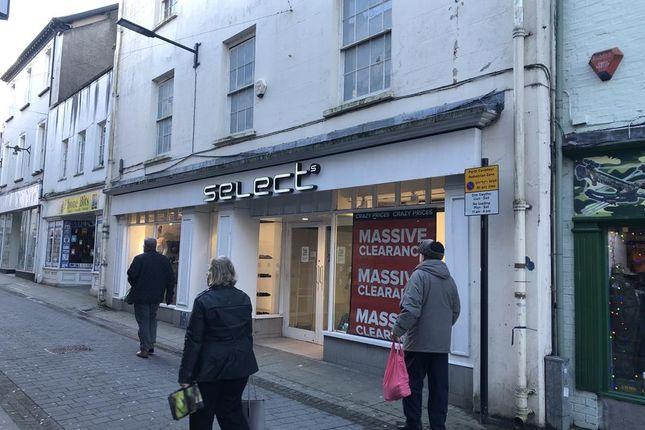 Thumbnail Retail premises to let in 20-20A Bridge Street, Haverfordwest, Pembrokeshire