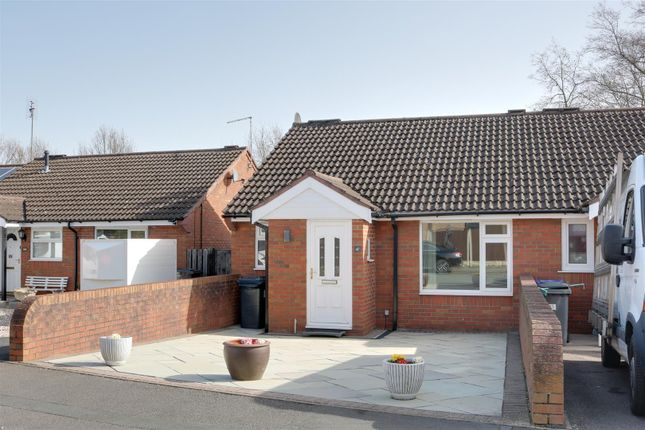 Thumbnail Terraced bungalow for sale in Beech Drive, Kidsgrove, Stoke-On-Trent