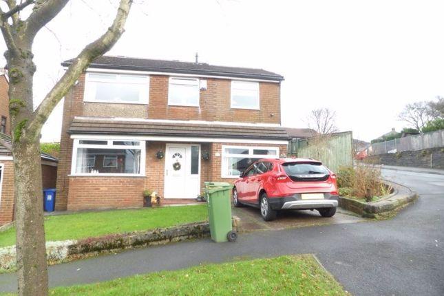 Thumbnail Detached house for sale in Woodville Drive, Stalybridge