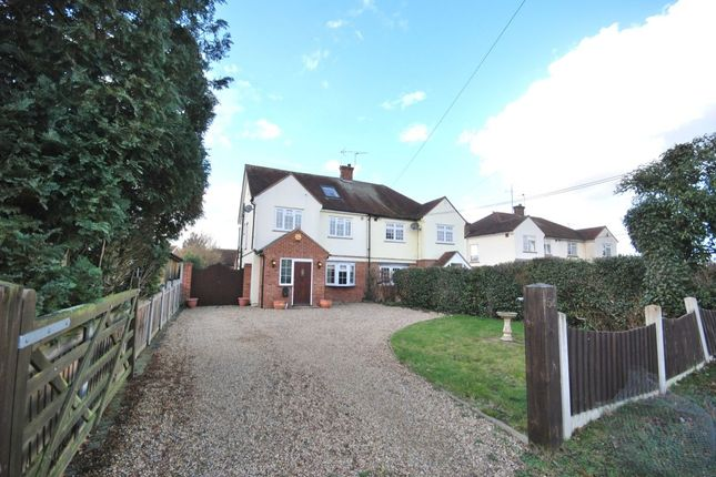 Thumbnail Semi-detached house for sale in Vicarage Lane, Great Baddow, Chelmsford