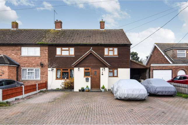 Thumbnail Semi-detached house for sale in Stanley Road, Bulphan