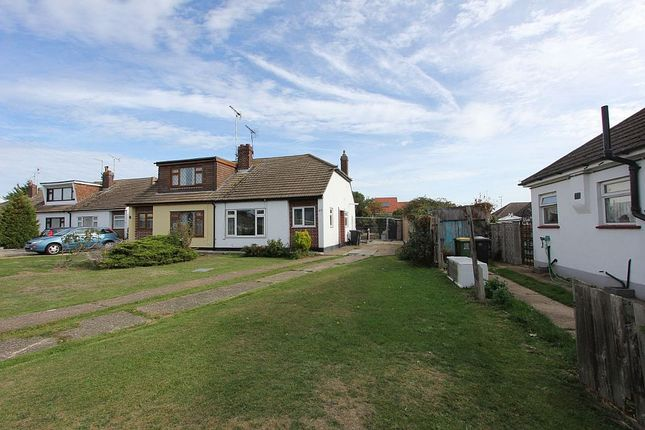 Thumbnail Semi-detached bungalow for sale in Spencer Gardens, Rochford, Essex
