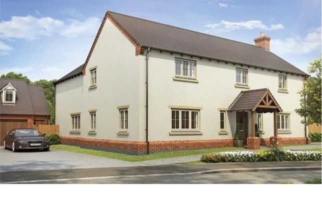 Thumbnail Detached house for sale in Stokes Rise, Great Easton, Market Harborough