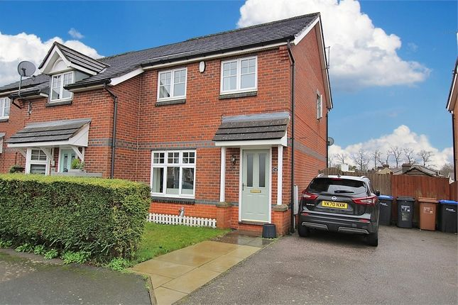 3 bed end terrace house for sale in Thomas Chapman Grove, Southbridge, Northampton NN4