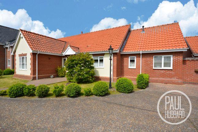 Thumbnail Detached bungalow for sale in Grove Gardens, Carlton Colville, Lowestoft
