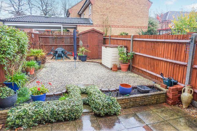 Rear Garden of Chelveston Crescent, Aldermoor, Southampton SO16