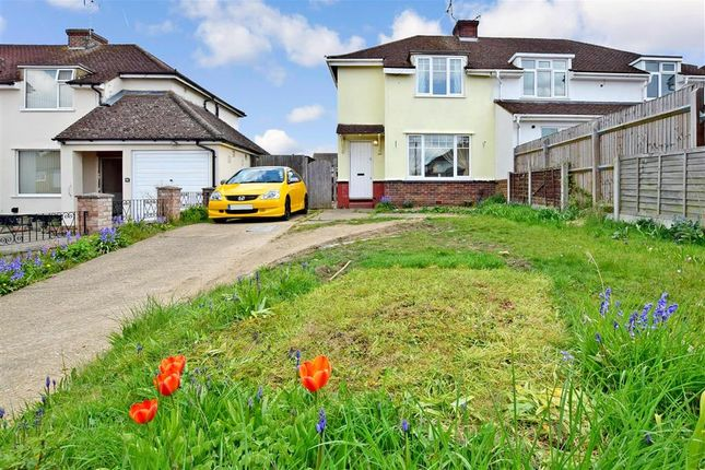 3 bed semi-detached house for sale in Lunsford Lane, Larkfield, Kent ME20