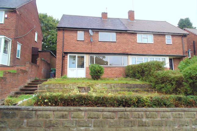 Thumbnail Semi-detached house to rent in Greenfield Road, Great Barr