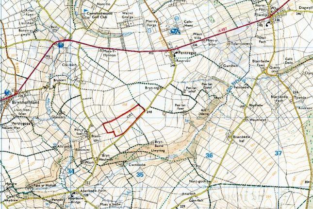 Land for sale in 29 Acres At, Blaenige, Rhydlewis, Llandysul, Ceredigion