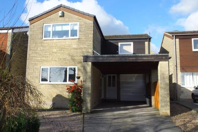 Thumbnail 4 bed detached house to rent in Windsor Drive, Dronfield Woodhouse