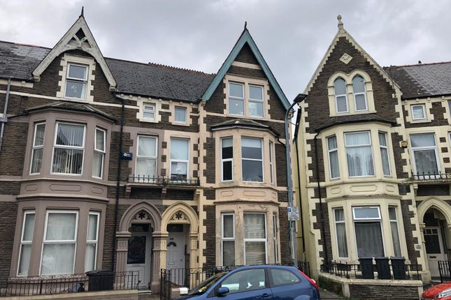 Thumbnail Flat for sale in Connaught Road, Roath, Cardiff