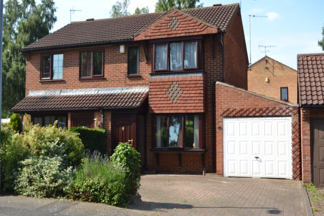 Thumbnail Semi-detached house to rent in Wedgewood Road, Lincoln