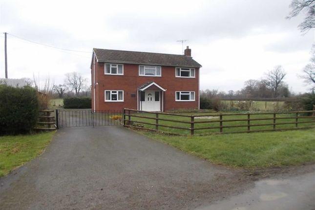 Thumbnail Detached house for sale in Gwenowddy New House, Llandrinio, Llanymynech, Powys
