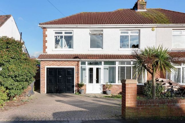 Thumbnail Semi-detached house for sale in Alsford Road, Purbrook, Waterlooville