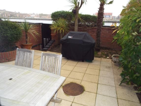 Garden of Channel Way, Ocean Village, Southampton SO14