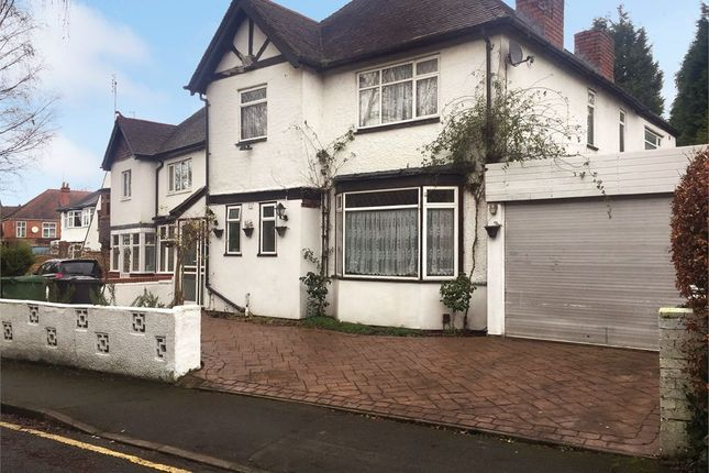 Thumbnail Detached house for sale in Oaks Crescent, Wolverhampton, West Midlands