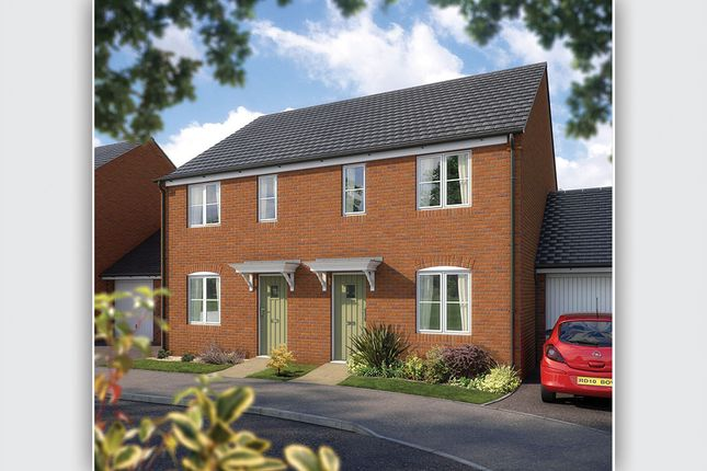 """Thumbnail Semi-detached house for sale in """"The Beardsley"""" at West Hill, Wincanton"""