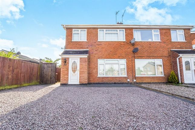 Thumbnail Semi-detached house for sale in Farriers Way, East Goscote, Leicester