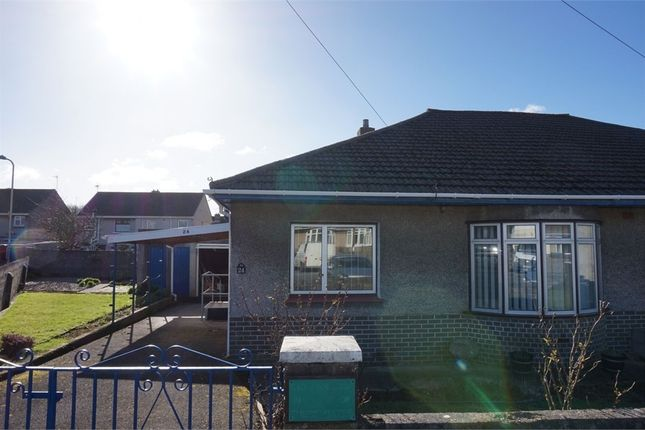 Thumbnail Semi-detached bungalow to rent in Idris Place, Bridgend, Mid Glamorgan