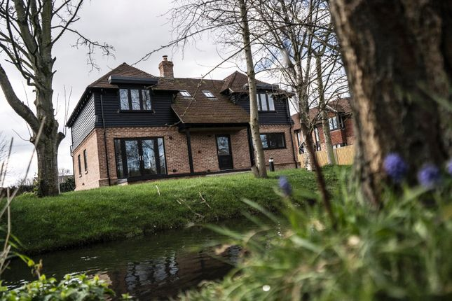 Thumbnail Detached house for sale in The Old Fairground, High Street, Wingham, Kent