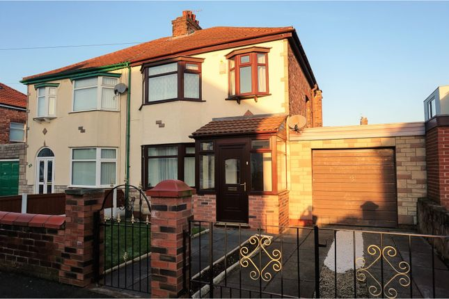 Thumbnail Semi-detached house for sale in Hawthorne Road, Prescot