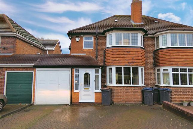 Thumbnail Semi-detached house for sale in Queens Road, Yardley, Birmingham