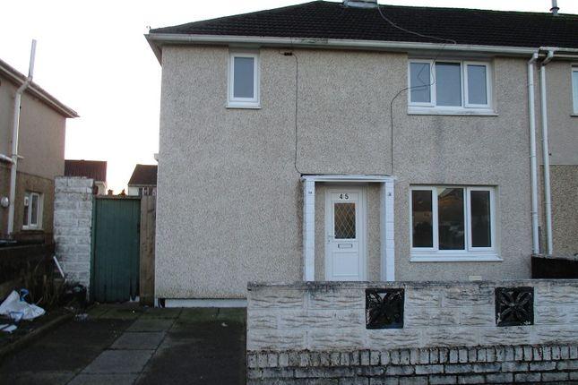 Thumbnail End terrace house to rent in Gordon Crescent, Port Talbot, Neath Port Talbot.