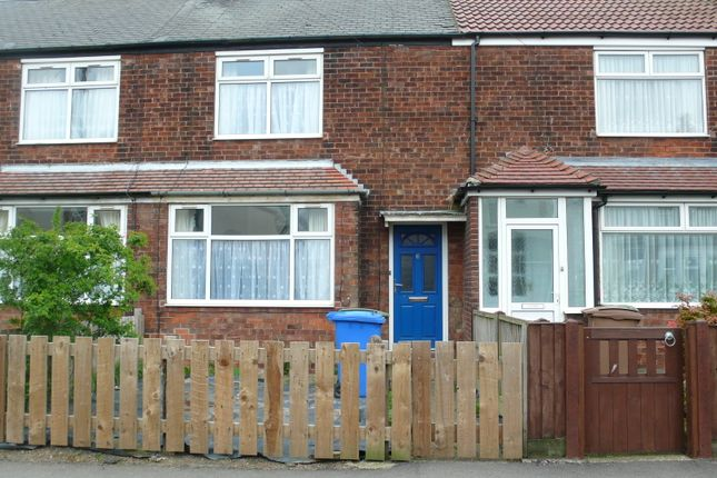 Thumbnail Terraced house to rent in Princes Avenue, Hedon