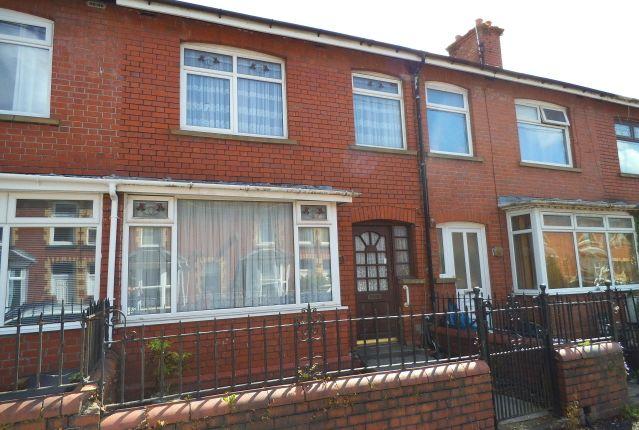 Thumbnail Terraced house for sale in Coronation Street, Aberkenfig, Bridgend