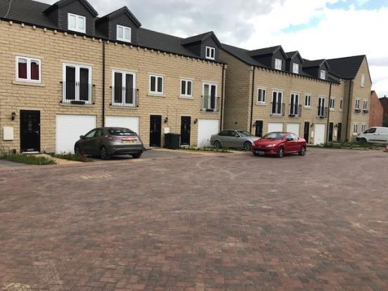 Thumbnail Town house to rent in Roman Gardens, Mexborough