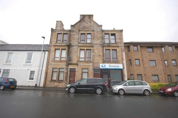 Thumbnail Flat for sale in Church Street, Johnstone