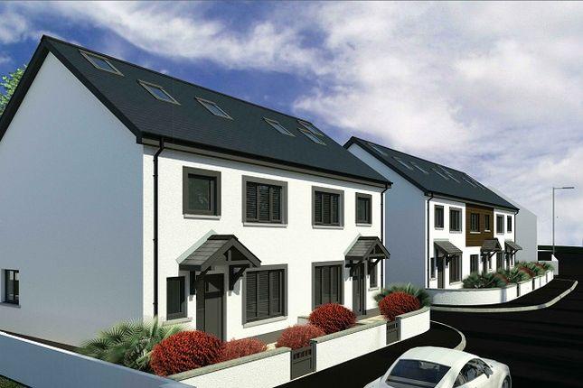 Thumbnail Semi-detached house for sale in Lower Lamphey Road, Pembroke, Pembrokeshire.