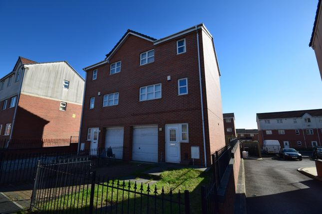 Thumbnail Semi-detached house for sale in Rushberry Avenue, Manchester