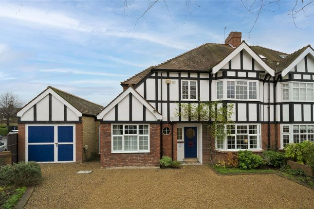 3 bed semi-detached house to rent in Seymour Road, East Molesey, Surrey KT8