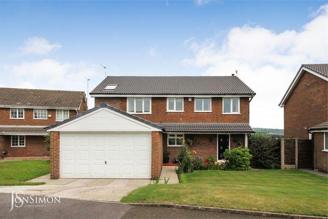 Thumbnail Detached house for sale in Horsham Close, Brandlesholme, Bury, Lancashire