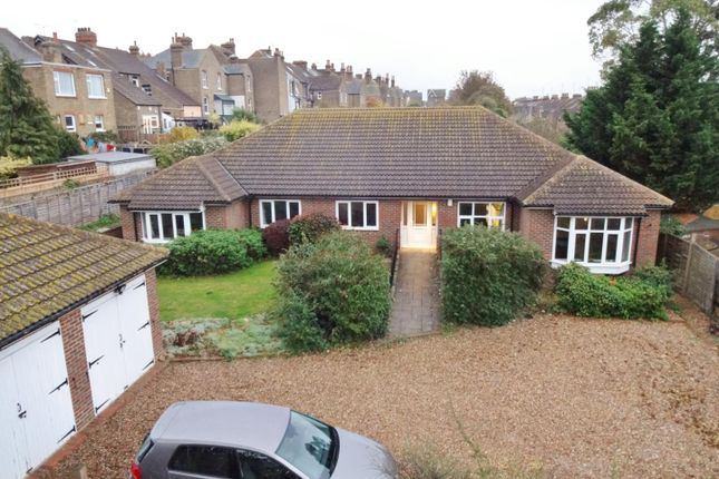 Thumbnail Detached bungalow for sale in Addiscombe Road, Margate