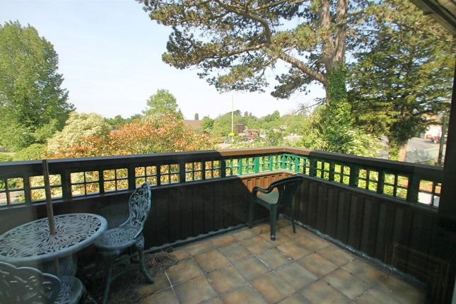 Balcony: of The Cloisters, High Street, Bushey WD23