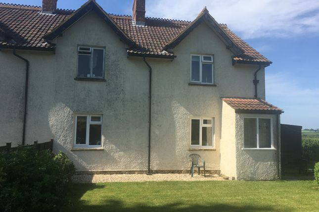 Thumbnail Semi-detached house to rent in Cricket Malherbie, Ilminster