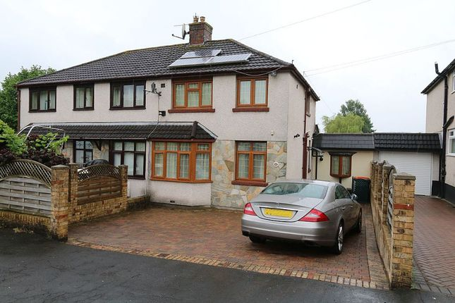 Thumbnail Semi-detached house for sale in Park End, Langstone, Newport, Newport