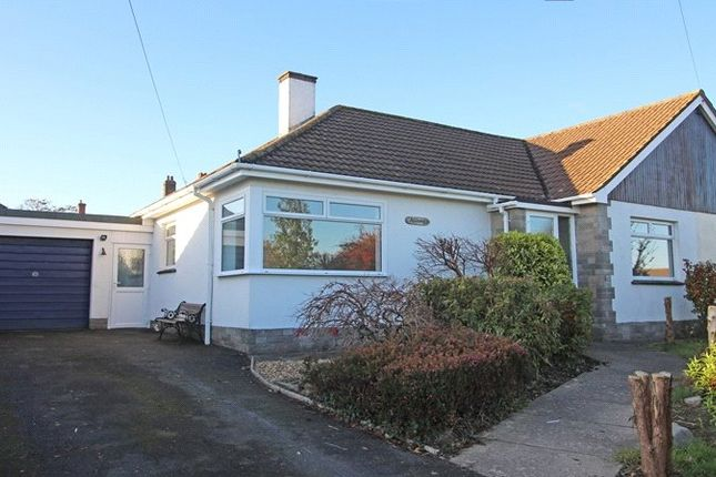 Thumbnail Bungalow to rent in Kingswood Meadow, Holsworthy
